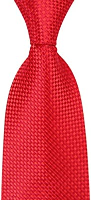 Formal Business Tie for Men Woven Jacquard Neck Ties Mens Ties (Color : B)