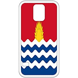 Kiribati Flag White Samsung Galaxy S5 Cell Phone Case - Cover