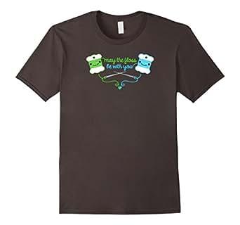 Men's Bob Flossy t-shirt  ||  May The Floss Be With You 3XL Asphalt