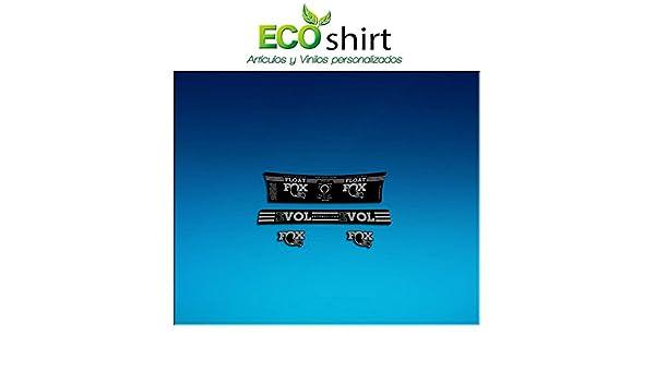 Ecoshirt DF-CKB3-KPXZ Pegatina Sticker Shock Fox Performance Series Float Am192 Aufkleber Decals Autocollants Amortiguador, Gris: Amazon.es: Coche y moto