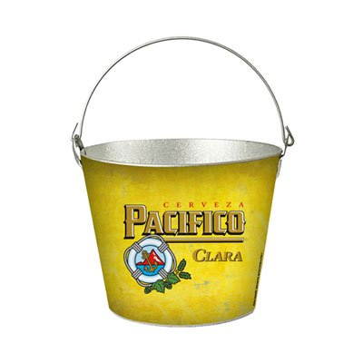 Pacifico Clara Galvanized Beer Bucket for sale  Delivered anywhere in USA