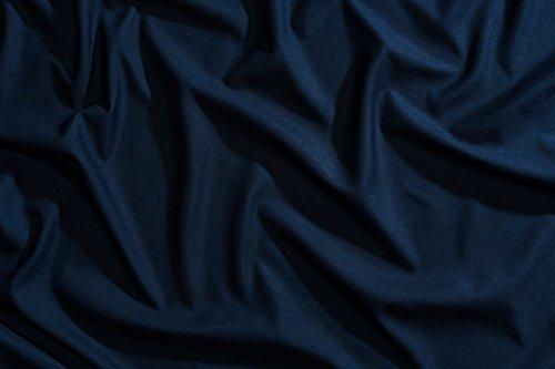 Night Sweats: The Original PeachSkinSheets 1500tc Soft SPLIT KING ADJUSTABLE BED Sheet Set MARINER BLUE