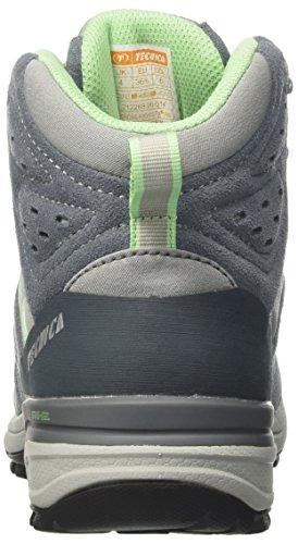 Tecnica T-cross High Gtxョ Ws - zapatos da caminata y excursionismo Mujer Multicolore (Grigio/Menta)