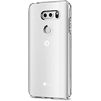 Spigen Liquid Crystal LG V30 Case with Slim Protection and Premium Clarity for LG V30 (2017) - Crystal Clear