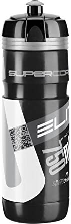Elite Supercorsa Bidón, Unisex Adulto, Negro/Plateado, 750 ml ...