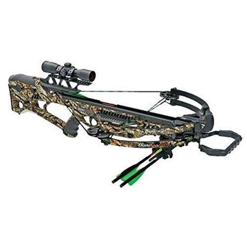 Barnett Quad Edge 350 FPS Crossbow Package, Camo
