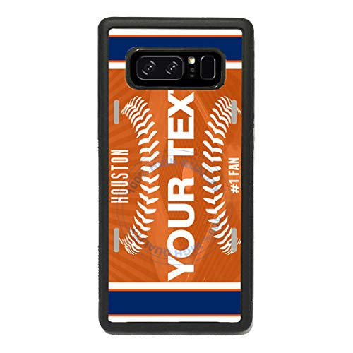 - BRGiftShop Personalized Custom Name Baseball Team Houston Rubber Phone Case for Samsung Galaxy s10 Plus
