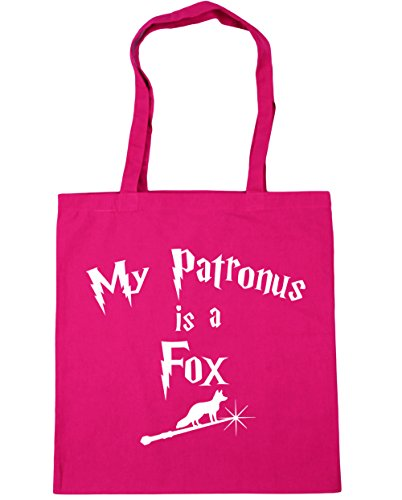 Fox 10 A Shopping Tote litres Is Fuchsia HippoWarehouse My x38cm Bag Gym Patronus Beach 42cm YwtxRXI7
