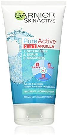 Se puede utilizar de 3 formas diferentes.,Purifica, exfolia y da un acabado mate.,Para pieles grasas