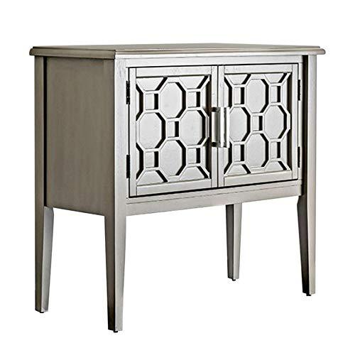 Furniture of America Nala Gray Hallway Cabinet Storage and Organization