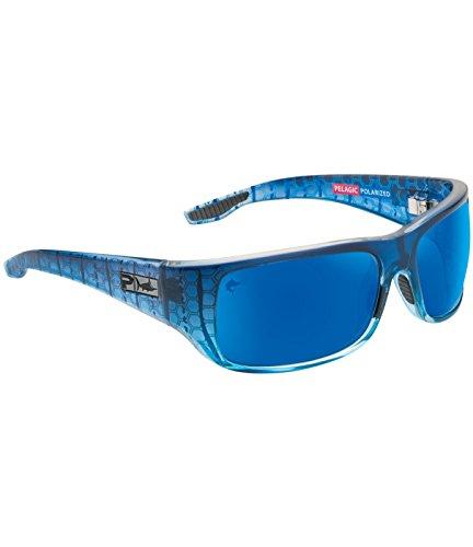 Pelagic Men's Fish Hook Polarized Sunglasses for Fishing | Polycarbonate - Polarized Sunglasses Pelagic