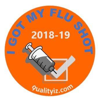 Amazoncom 1 I Got My Flu Shot 2018 19 Season Stickers 400