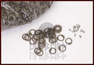 RRR 1kg vrac oreilles ronde sur vernieten, id 8mm, non-traité style Moyen-Âge id 8mm non-traité style Moyen-Âge ULFBERTH ULF-RRR-LR
