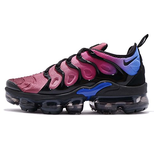 NIKE W Air Vapormax Plus, Zapatillas de Running para Mujer Multicolor (Black/Black-team Red 001)