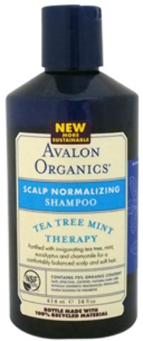 Avalon Organics - Organics Scalp Normalizing Tea Tree Mint Therapy Shampoo (14 oz.) 1 pcs sku# ()