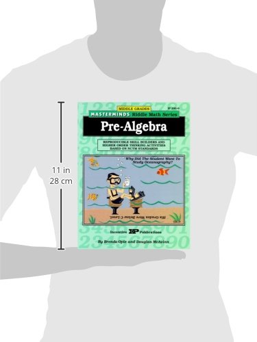Amazon.com: Masterminds Pre Algebra: Reproducible Skill Builders ...
