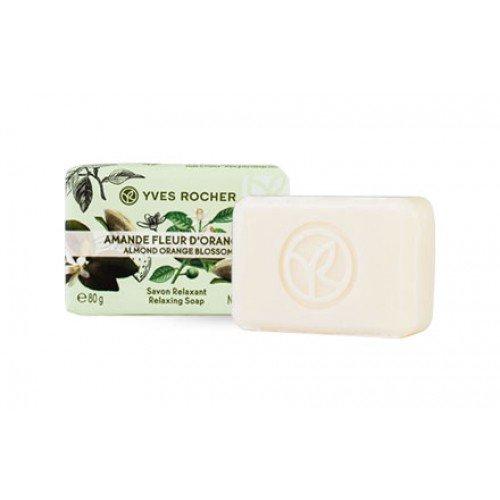 YVES ROCHER Relaxing Soap Bar 2.8 OZ (Almond Orange Blossom)