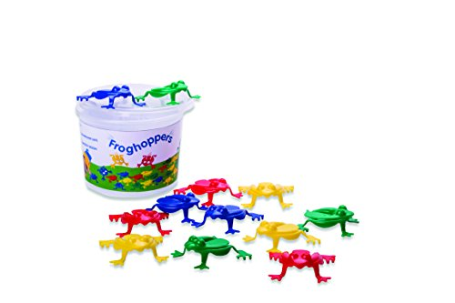 Viking Toys Frog Hoppers - Flip Frogs in the Bucket (Jump Frog)