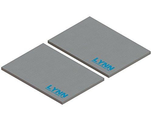 Lynn Manufacturing Replacement Quadrafire Baffle Board, 3100 ACC Step Top, Set of 2, SRV7033-209