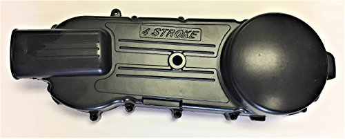 Crankcase Left Side Long Case 842 or 835 Belt CVT Drive Cover for GY6 150cc Scooter Moped ATV Quad Bike