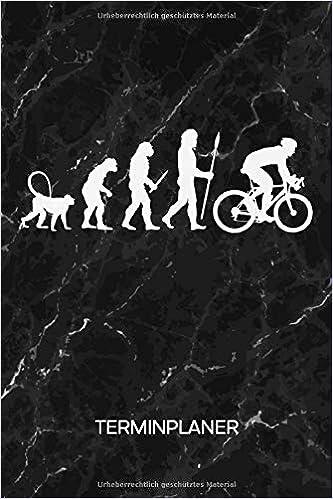 TERMINPLANER: Fahrradfahrer Kalender Mo. bis So. - Rennrad ...