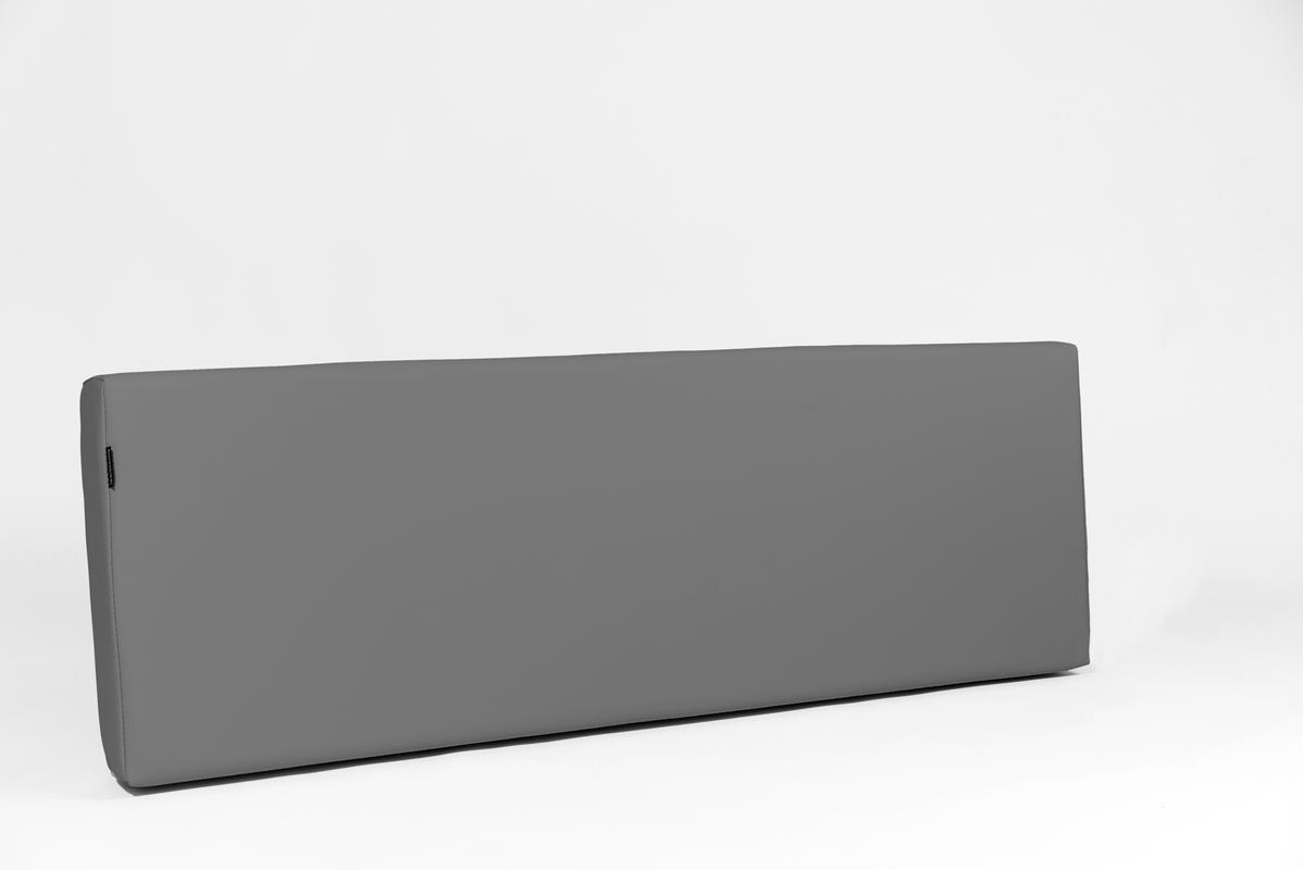 MiPuf - Respaldo Rectangular para Colchon de Palet - Tamaño 120x30x20 - Tejido Nautico para Exterior - Color Chocolate: Amazon.es: Hogar