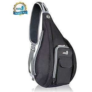 Best Deal! Sling Backpack Bag for Men Women, Waterproof Rope Strap Shoulder Bag Daypack