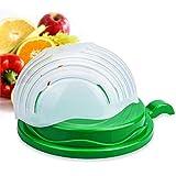 Lovelyback 60 Seconds Salad Cutter Bowl Easy Salad Maker Kitchen Tools Fruit Vegetable Fruits Chopper Cutter Quick Kitchen Accessories