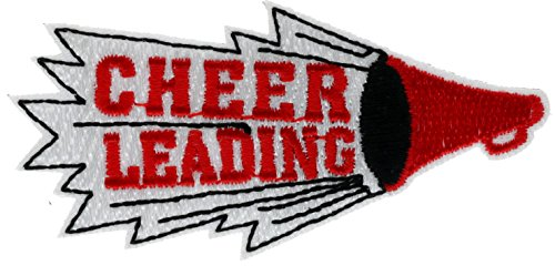 Cheer Leading Embroidered Patch 2 inch AVA0472