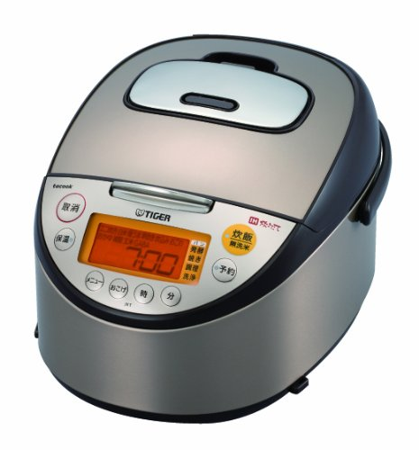 Tiger Tacook Takukku Simultaneous Cooking Ih Rice Cooker Jkt-r100 5.5 Cups Brown Jkt-r100-t (Tiger Rice Cooker Tacook compare prices)