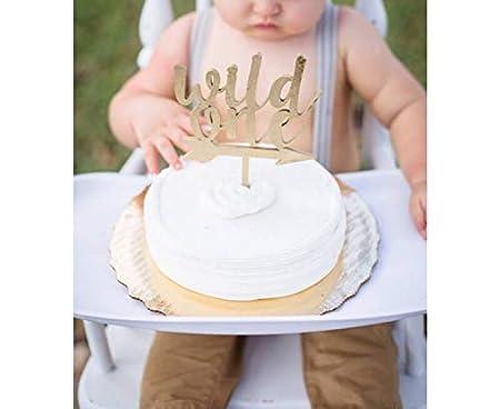 Wild One - Decoración para tarta (madera) Decoración para ...