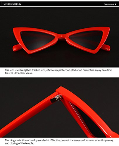 De Bow De De Gafas Sol Sol A Gafas Gafas Mujeres Cat Swag F Personalidad Eye Sol Nuevas Estilo dxzwRHP
