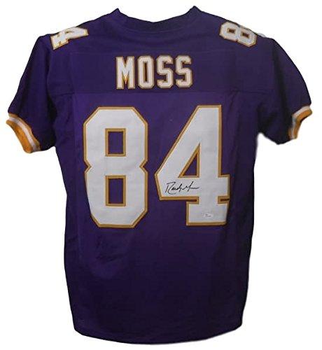 Riddell Minnesota Vikings Revolution (Randy Moss Autographed Minnesota Vikings Purple Size XL Jersey JSA)