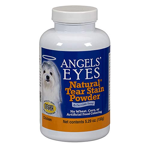 Angels' Eyes Natural Tear Stain Eliminator Remover - CHICKEN (5.29 oz) 150 gram