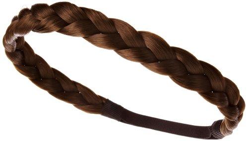 Love Hair Extensions Haarband, geflochten, groß, Chestnut Brown