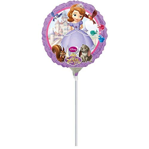 10 DISNEY PRINCESS SOFIA THE 1ST BIRTHDAY PARTY BALLOONS 9