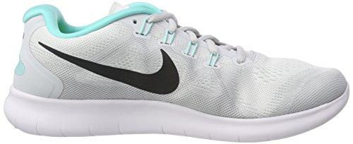 Donna Free Scarpe reines Rn Bianco Grau Nike Platin 2017 Running anthrazit Wmns weiß wZT1q5AxY