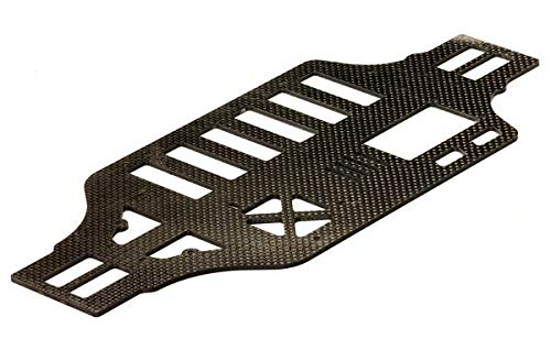 Integy RC Model Hop-ups C24091 Carbon Fiber Main Chassis Plate for 1/10 Size 4WD Touring Car C23475
