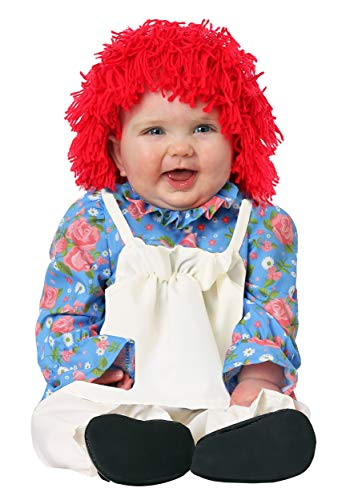 Infant Girls Rag Doll Costume 12/18 Months