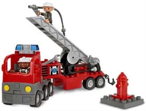 Lego Duplo 4681 Ville Feuerwehrlöschzug Amazonde Spielzeug