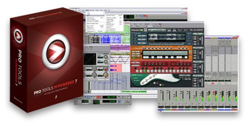 M-Audio Pro Tools M-Powered 7 M-Audio Compatible World-Class Production Software