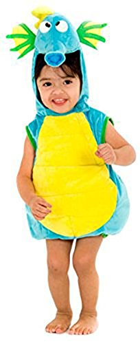 [Algae the Seahorse Costume for Infants- 6/12 months] (Seahorse Costume Women)