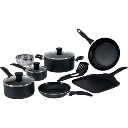 Price comparison product image T-Fal 12-Piece Easy Care Non-Stick Cookware Set,  Gray