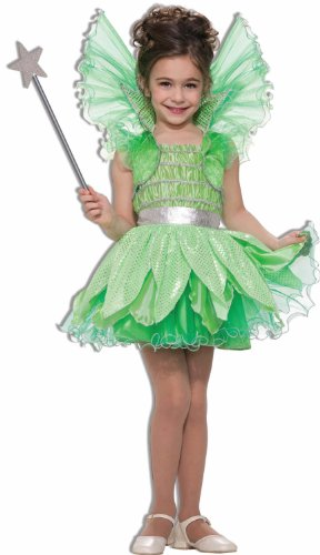 Forum Novelties Green Sprite Costume, Child's Large (Green Fairy Dress)