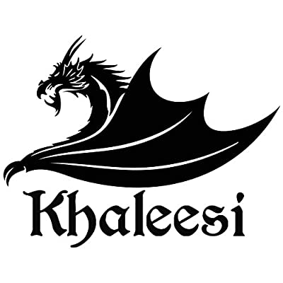 Game of Thrones Khaleesi Vinyl Decal Sticker - For wall, vehicle, computer, home decor