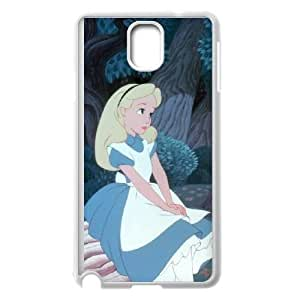 SamSung Galaxy Note3 phone cases White Alice cell phone cases Beautiful gifts NYU45754957