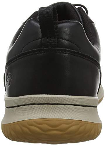 Black Antigo Schwarz Delson Herren Skechers Blk Sneaker 0pxEX1nq