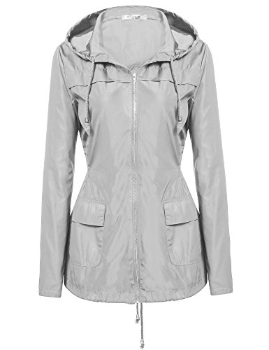 Meaneor Lightweigt Waterproof Rainwear Raincoat