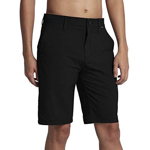 Hurley Black Shorts - Hurley Men's Dri-Fit Chino Shorts, Black, 32