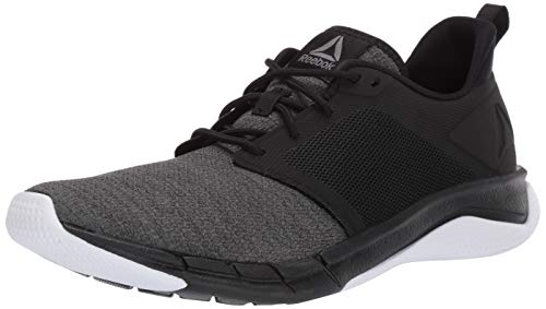 Reebok Men's Print Run 3.0 Shoe,black/true grey/true grey/white,10 M US